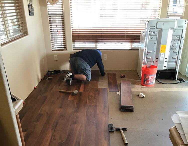 flooring installation Gilbert AZ